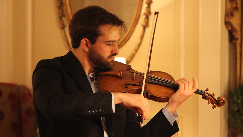 William Hagen, 23, receives 1735 'Sennhauser' Guarneri del Gesù through Stradivari Society