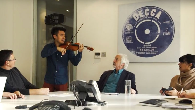 Ray Chen Signs with Decca Classics