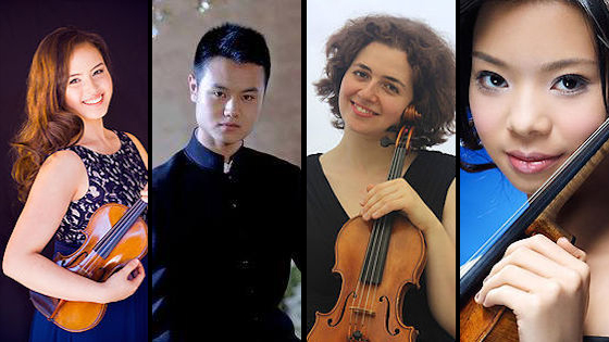 Finalists Announced in 2017 Elmar Oliveira International Violin Competition