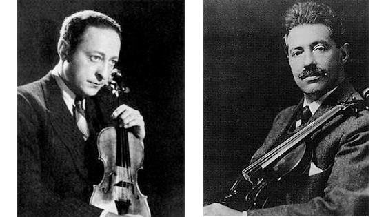 Heifetz and Kreisler