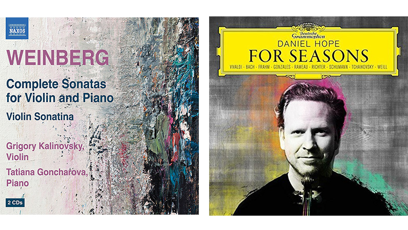For the Record, Op. 16: Grigory Kalinovsky plays Weinberg; Daniel Hope's 'For Seasons'