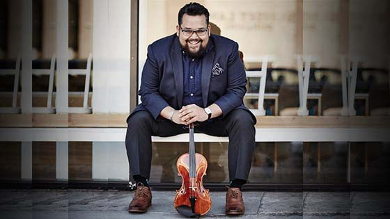 LA Phil Violinist Vijay Gupta to Receive Bernstein Award