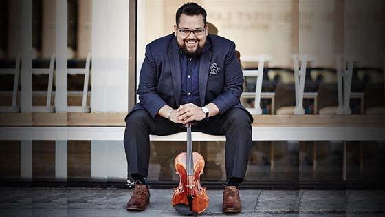 LA Phil Violinist Vijay Gupta to Receive Bernstein Award