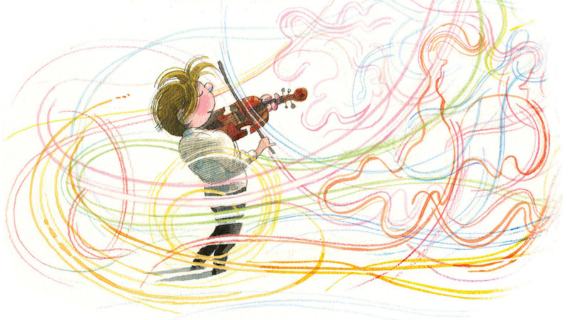 New Children's Book Stars Joshua Bell: The Dance of the Violin
