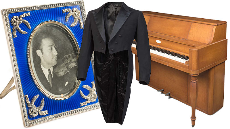 Jascha Heifetz' Personal Items Up for Auction