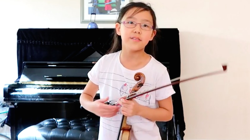 The Story Continues: The Violin Girl with Paganini Concerto, Part 2
