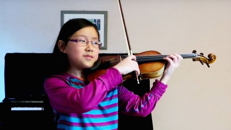 A tale of Sauret vs Paganini playoff: The Violin Girl with Paganini concerto, Part 3