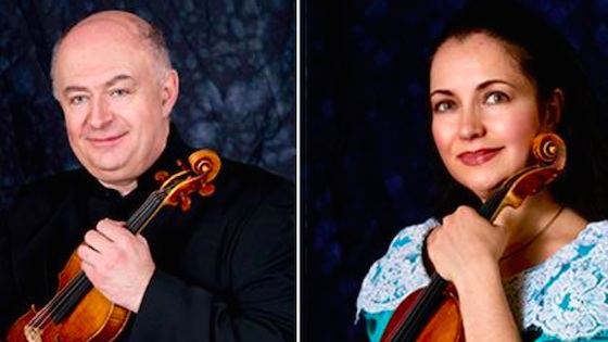 Ilya and Olga Kaler to Join CIM Violin Faculty