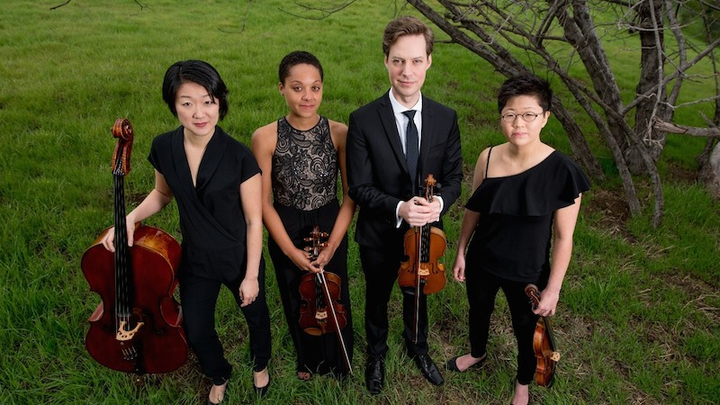 Juilliard names Argus Quartet new graduate resident string quartet