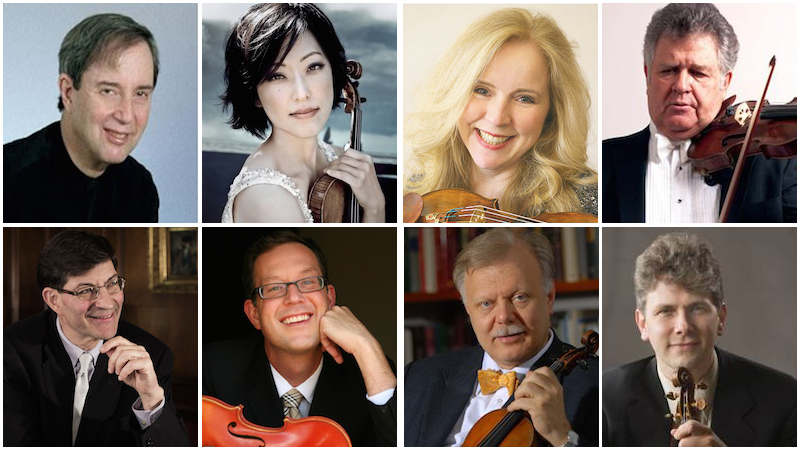 The 2017 Starling-DeLay Symposium on Violin Studies begins Tuesday at Juilliard