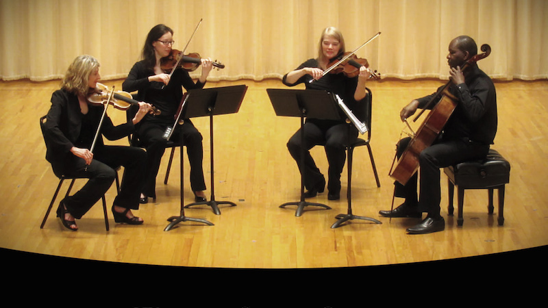 A Day in the Life of a Freelance String Quartet