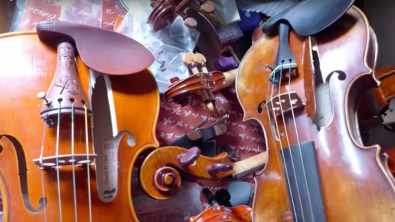 Woman Arrested in Connection with Destroying 54 Stringed Instruments and 70 Bows