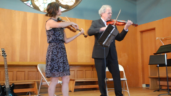The Well Aging Fiddler –First Concert