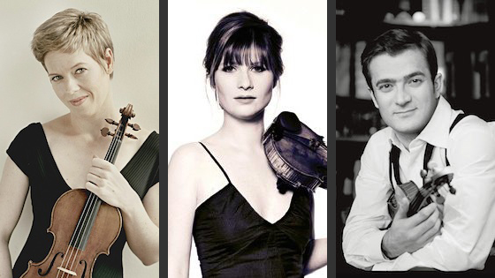 Lisa Batiashvili; Isabelle Faust; Renaud Capuçon Short-Listed for Gramophone Awards 2017