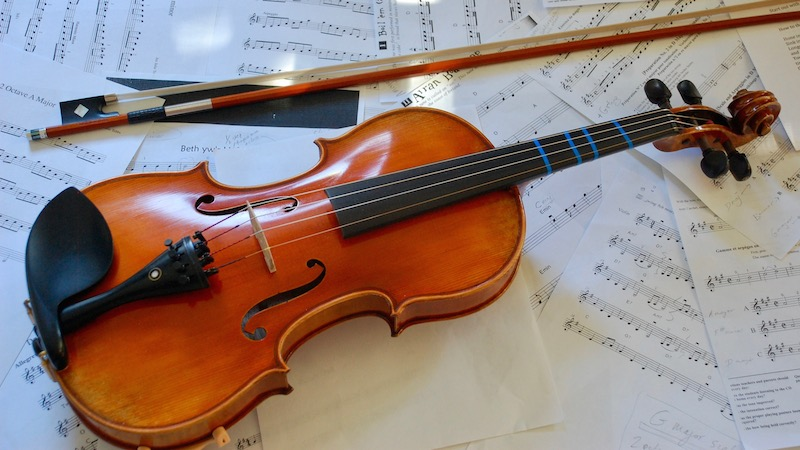 The Well Aging Fiddler - The Siren's Call........Upgrading a Violin.