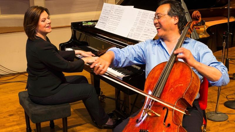 Yo-Yo Ma and Kathryn Stott in Blacksburg