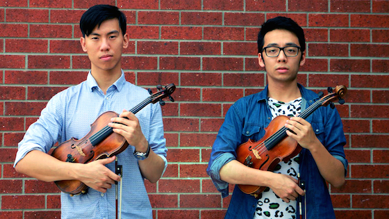 Brett Yang and Eddy Chen of Twoset Violin
