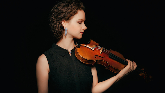 Review: Hilary Hahn Performs Bernstein Serenade with LA Phil