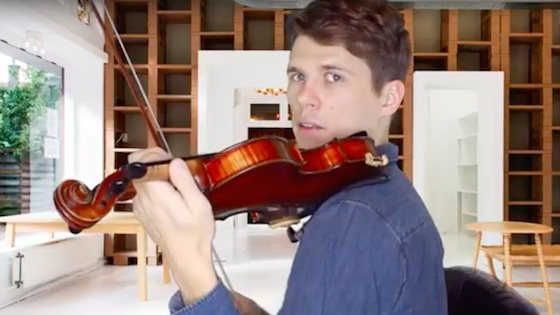 Third Position On The Violin - Basic Exercises