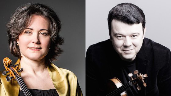 Judith Ingolfsson and Vadim Gluzman to Join Peabody Institute Violin Faculty