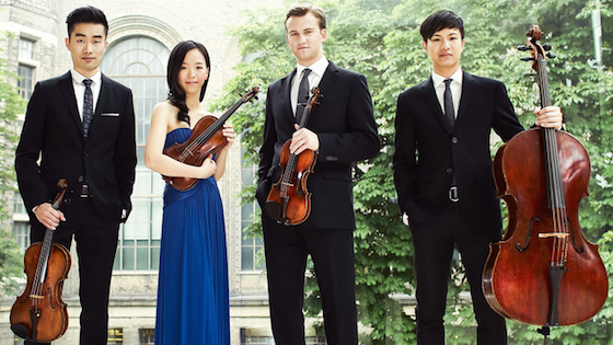 The Rolston String Quartet in Blacksburg