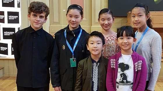 2018 Menuhin Competition Names Six Junior Division Finalists