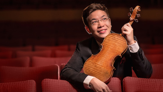Interview with Violinist Paul Huang: Playing the 'Wieniawski' del Gesù and Returning to Kennedy Center