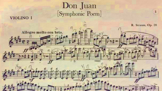 V.com weekend vote: Have you ever actually played 'Don Juan' by Richard Strauss in a concert?