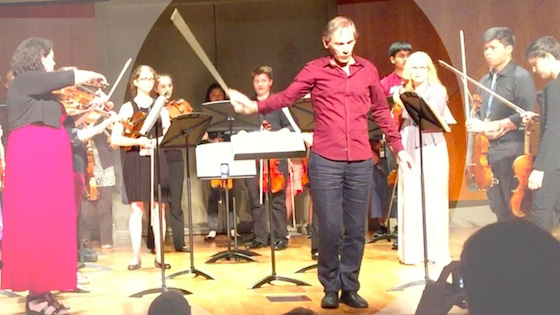 'Not Giants, But Windmills' for Viola Ensemble, by Garth Knox