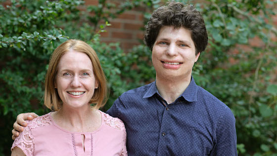 Laurie Niles and Augustin Hadelich