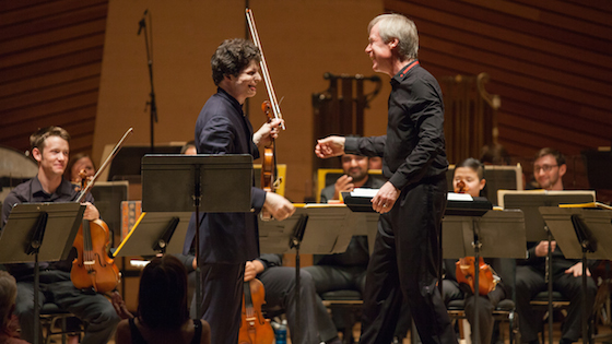 Augustin Hadelich and David Robertson
