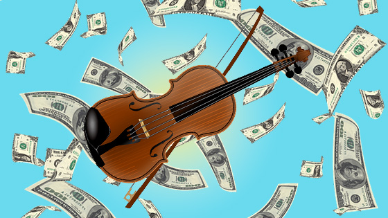 Weekend vote: What does playing violin, viola or cello cost you per month?