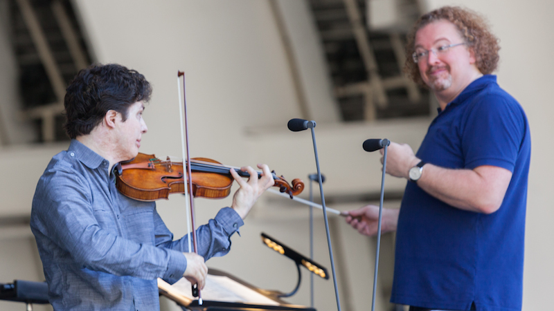 Review: Augustin Hadelich Plays Sibelius Violin Concerto at the Hollywood Bowl