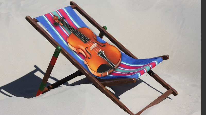 V.com weekend vote: When you go on vacation, do you bring your violin or other instrument?