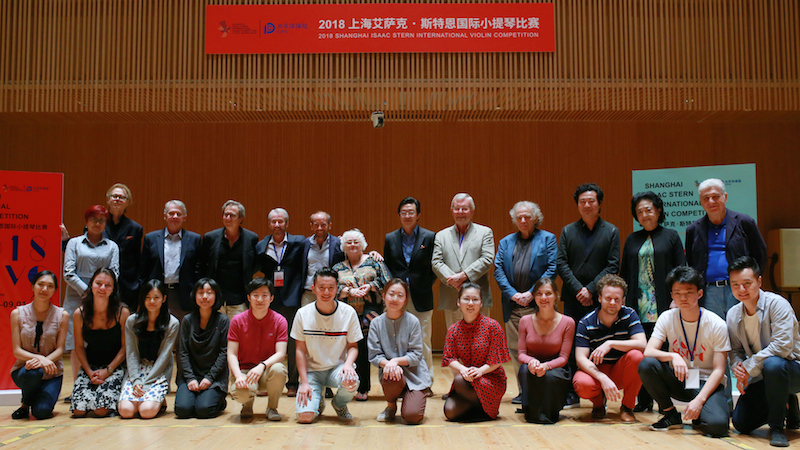 Shanghai semi-finalists and jury