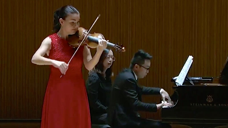 Shanghai Competition 2018 Semi-Finals: First Day of Sonatas and Kreisler