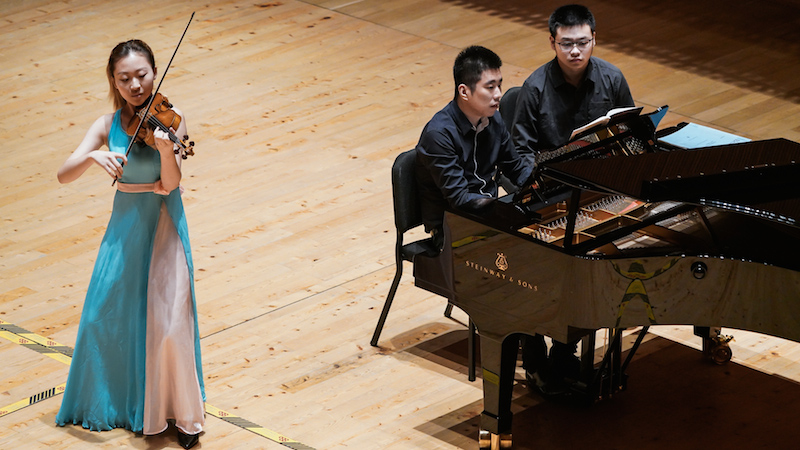 Shanghai Competition 2018 Semi-Finals: Second Day of Sonatas and Kreisler