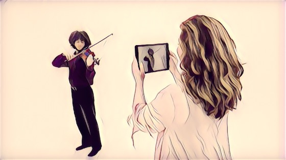 V.com weekend vote: Do you record your violin lessons?