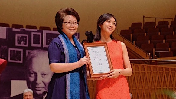 Shanghai Competition $100,000 First Prize Awarded to Nancy Zhou of the U.S.