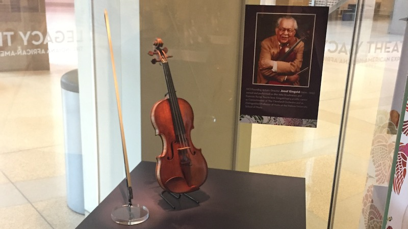 Josef Gingold's Strad Waits in Suspense for Indianapolis Outcome