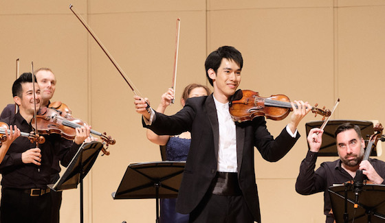 Richard Lin of the U.S./Taiwan Wins Gold Medal in Indianapolis Competition