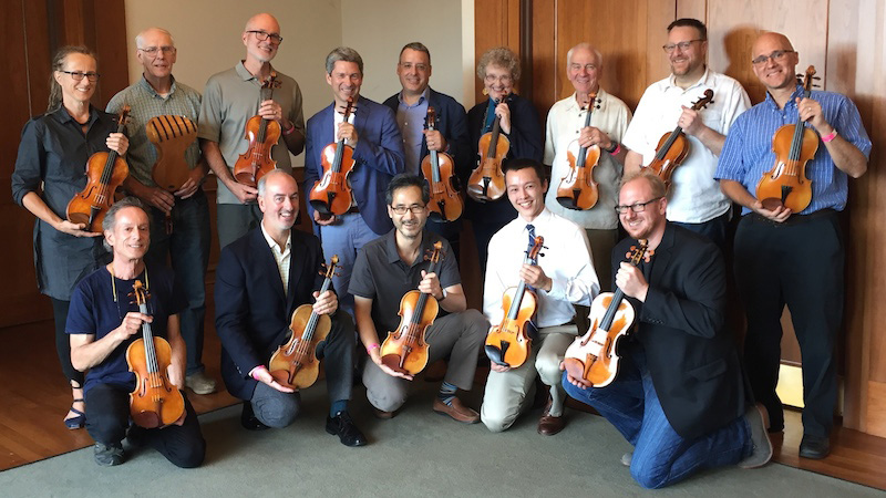 Indianapolis Competition Supports 21st C. Violins Makers with Exhibit and Purchase