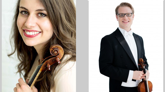 Cincinnati Symphony Appoints Violinists Stefani Collins Matsuo and Philip Marten to Concertmaster Roles