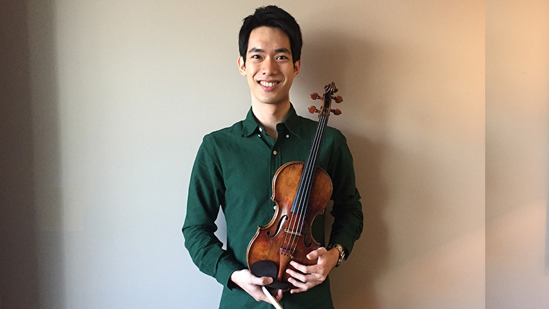 Violinist.com Interview with Richard Lin, Winner of the 2018 Indianapolis Violin Competition border=0 align=