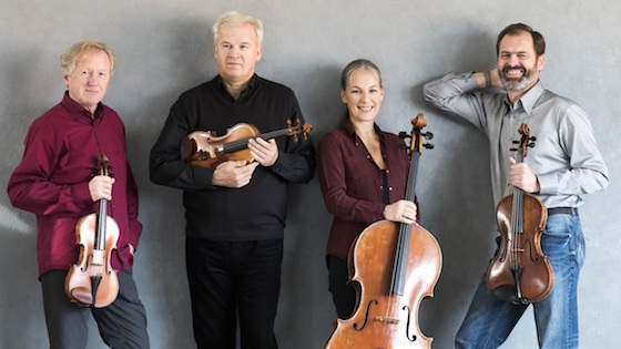 The Martinu Quartet in Blacksburg