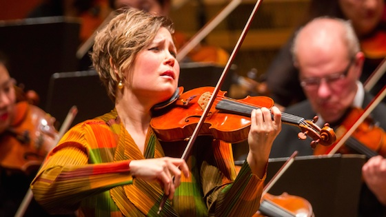 Violinist Leila Josefowicz wins $100,000 Avery Fisher Prize for 2018