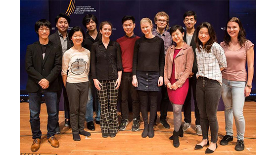 Semifinalists Named in 2018 Joseph Joachim International Violin Competition Hannover border=0 align=