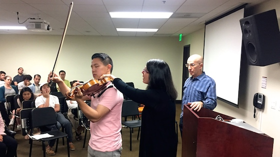 Preventing Violin-Related Injuries, with Pamela Frank and Howard Nelson