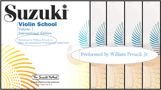 Suzuki Community Raises Concerns about Violin Book Recordings by William Preucil Jr.