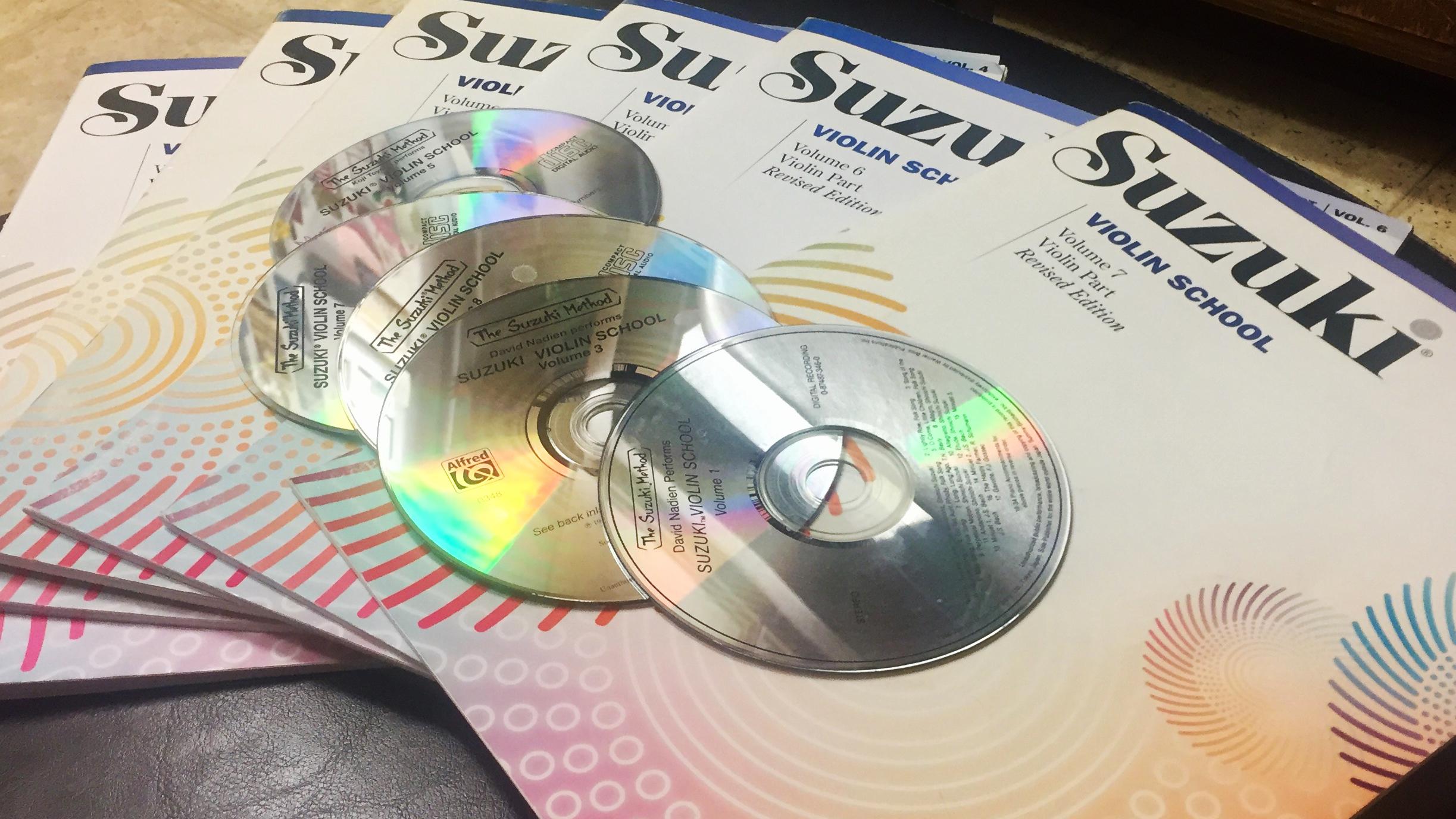 Suzuki CDs